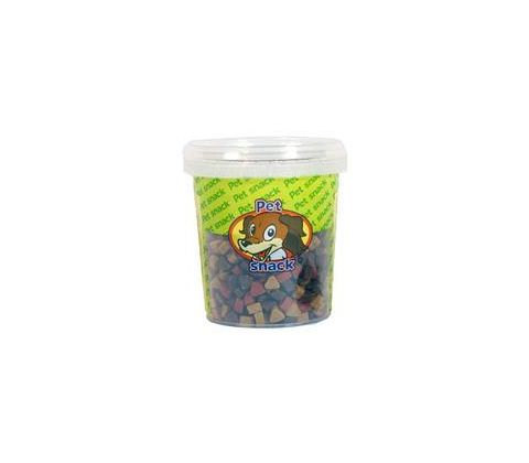 Petsnack Mini hjerter mix 500g