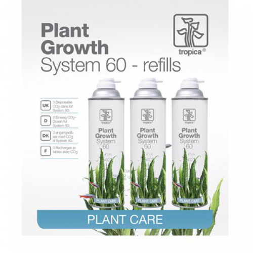 Tropica Plant Growth System 60. 3 flasker