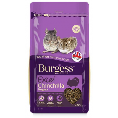Burgess Chinchilla 1,5 kg