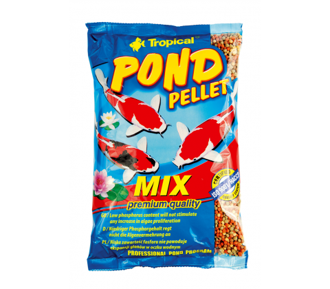 Tropical pond pellets mix